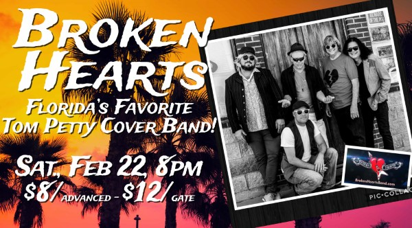 Broken Hearts - Tom Petty Tribute Band - Feb 22 @ Gill Dawg | Port Richey | Florida | United States