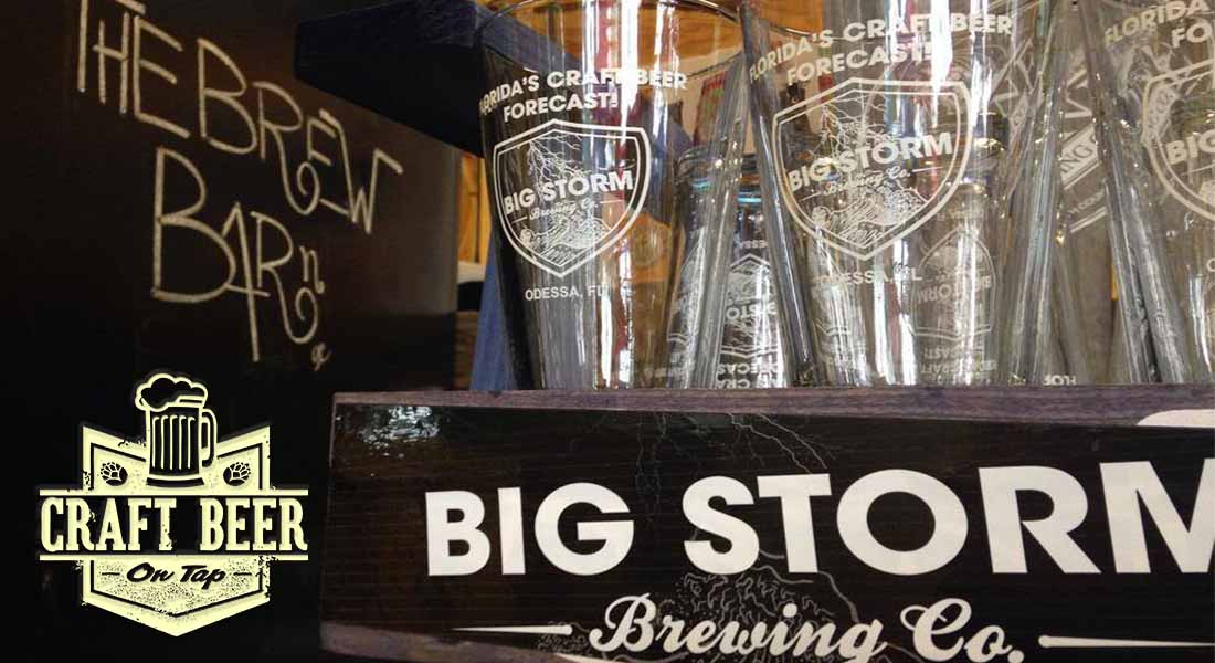Craft Beer Big Storm Brewery Gill Dawg Tiki Bar and Grill Port Richey Florida