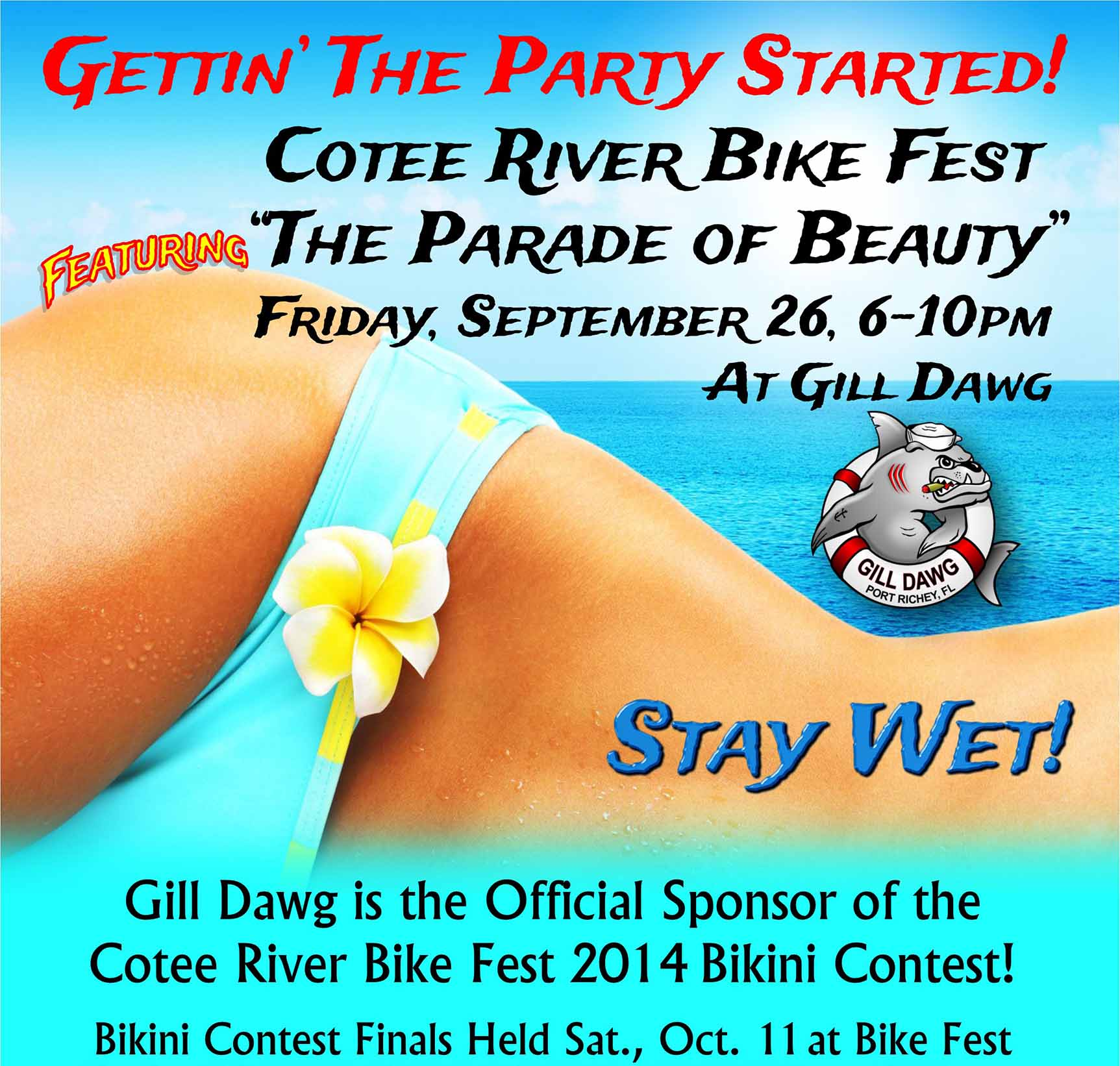 cotee river bikini contest semi final gill dawg