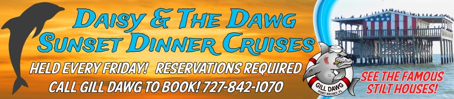 Daisy & The Dawg Sunset Dinner Cruise @ Gill Dawg | Port Richey | Florida | United States