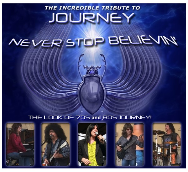 Journey Tribute concert by Never Stop Believin' – June 19 @ Gill Dawg | Port Richey | Florida | United States